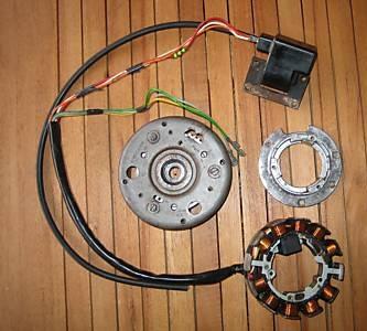 031 Umrüstung auf kontaktlose Zündung 80 - 100 Watt