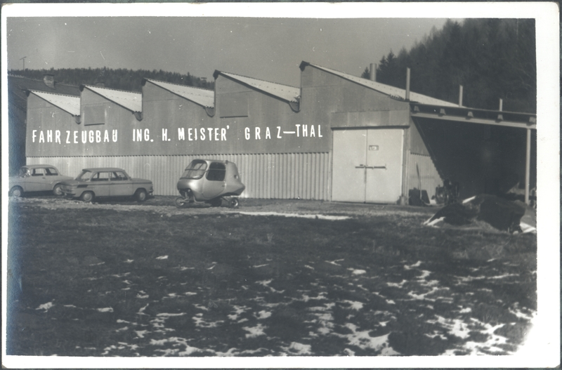 Fabrikshalle in Thal - Oberbichl