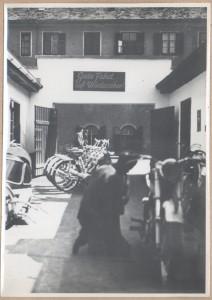 Firmenhof in der Elisabethinergasse