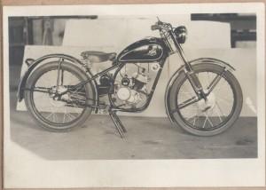 KTM Motorrad bei Fa. Meister