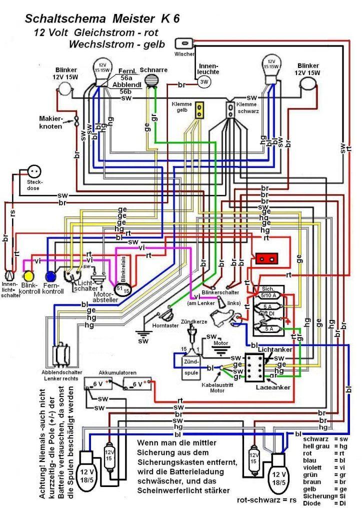 Schaltplan K6