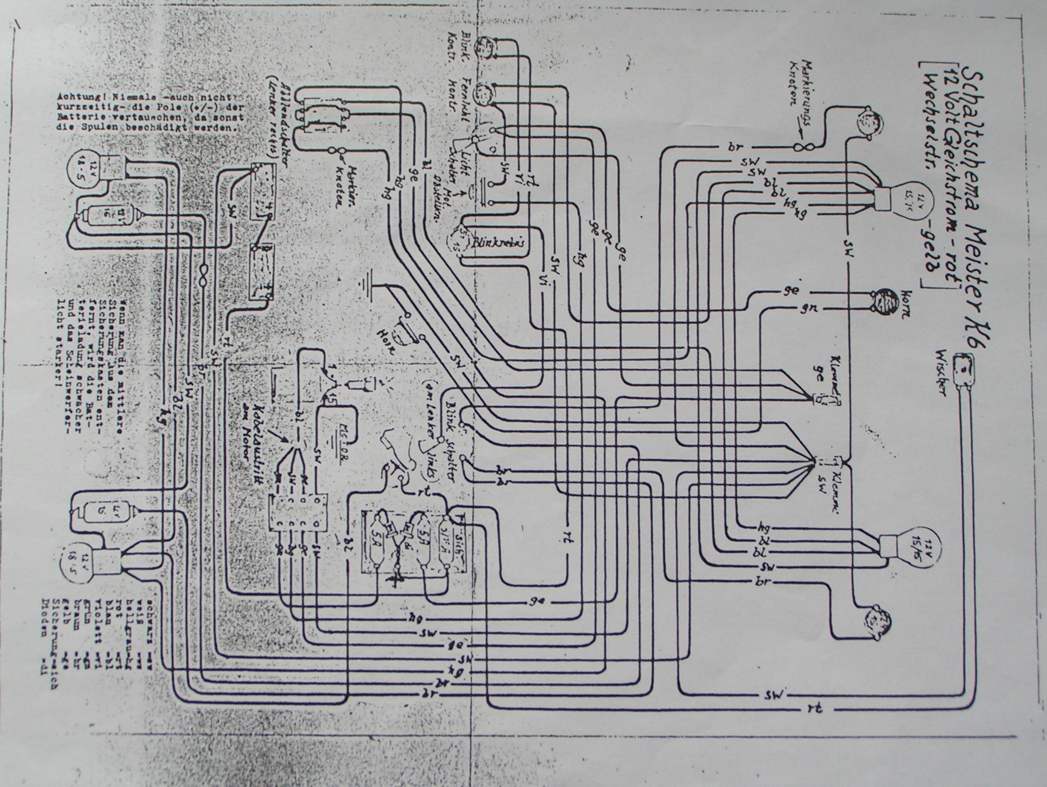 Großzügig Original Schaltplan Bilder - Die Besten Elektrischen ...