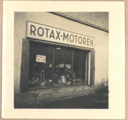Rotax Auslage
